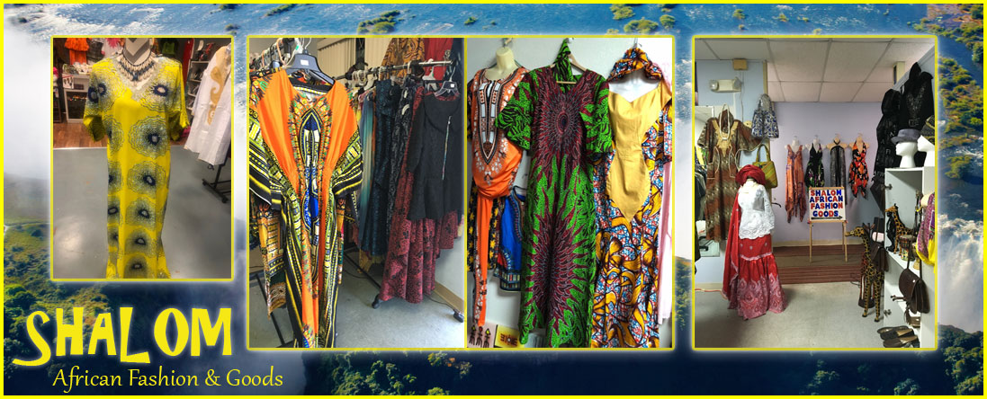 Shalom African Fashion and Goods Offers African Fashion in San Antonio, TX