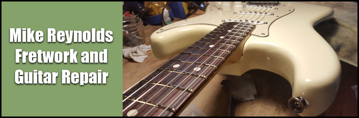 Mike Reynolds Fretwork and Guitar Repair is a Guitar Repair Shop in San Jose, CA