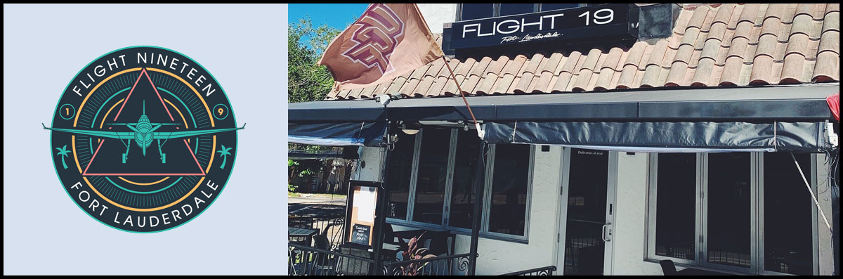 Flight 19 is a Restaurant and Cocktail Bar in Fort Lauderdale, FL