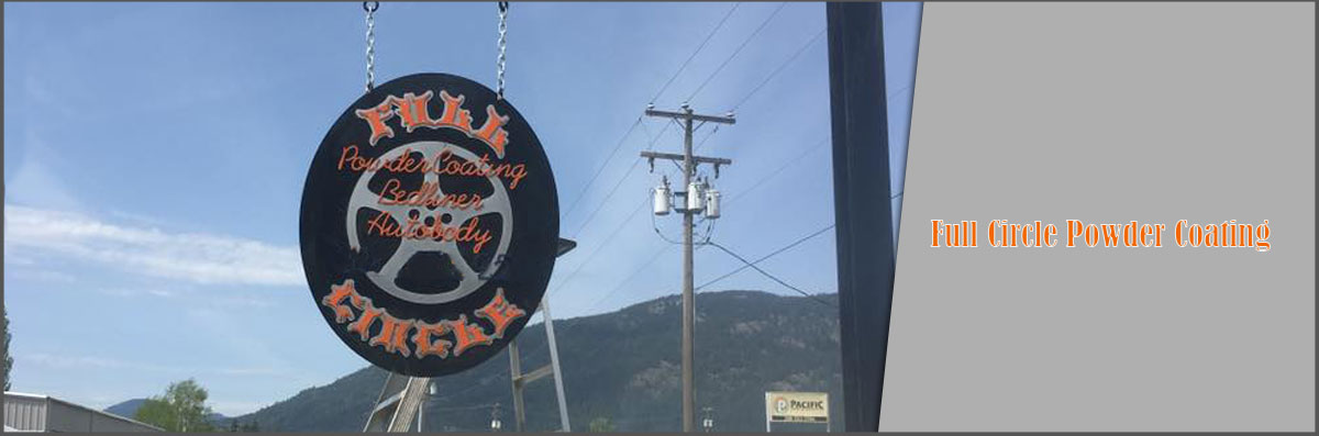 Full Circle Powder Coating is an Auto Body Shop in Ponderay, ID