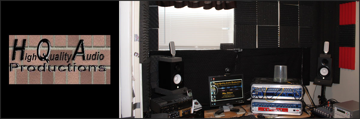 High Quality Audio Productions is an Audio Mastering Company in Madison, TN