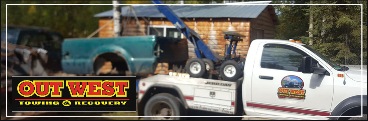 Out West Towing & Recovery Does Roadside Assistance in Drayton Valley, AB