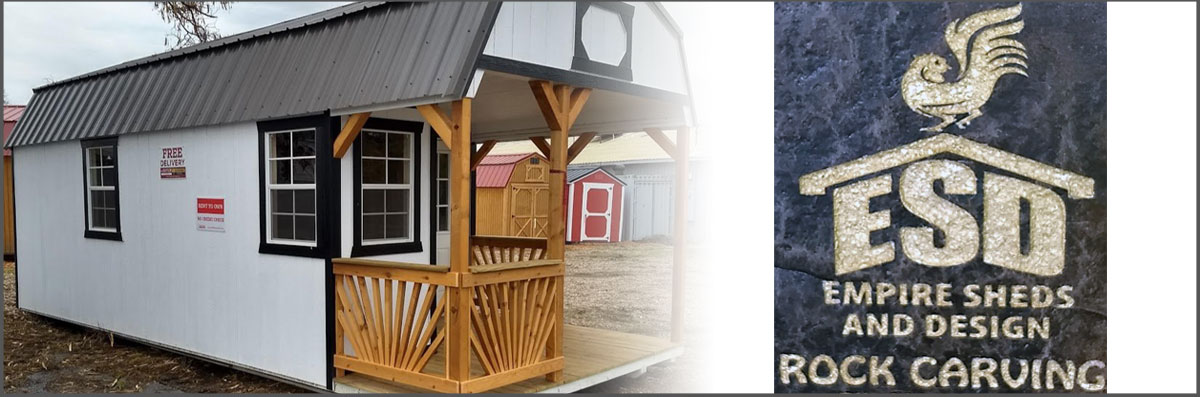 Empire Sheds and Design Makes Sheds in Modesto, CA