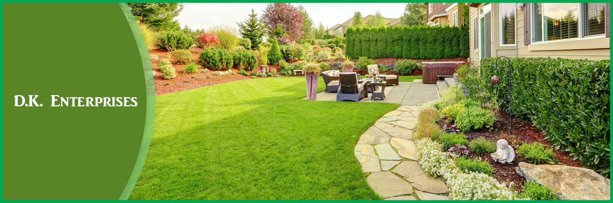 D.K. Enterprises Offers Landscaping Services in Gorham, ME