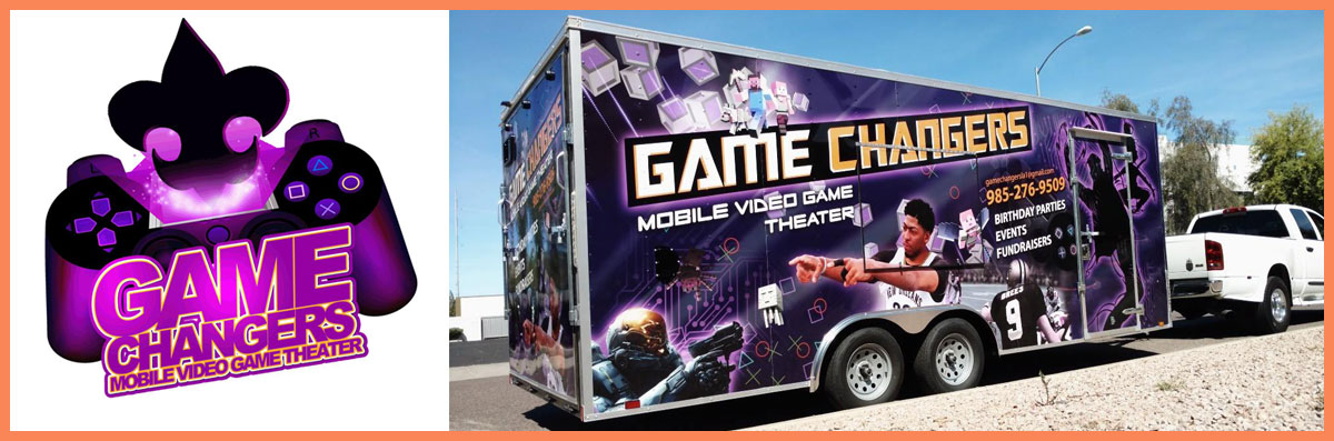Game Changers Mobile Video Game Theater is a Game Truck Rental in Covington, LA