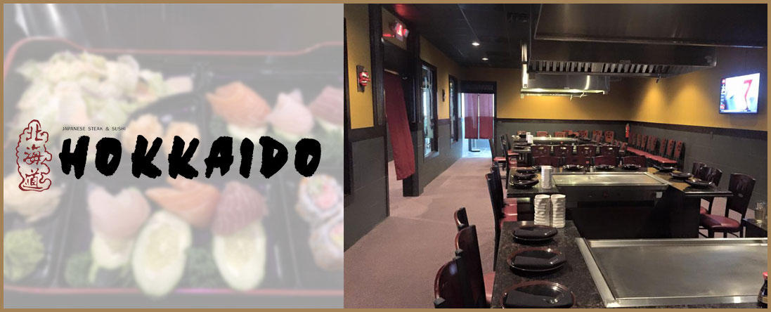 Hokkaido Japanese Steak and Sushi Serves Japanese Food in Saginaw, MI