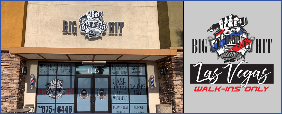 Big Hit Barbershop Las Vegas is a Barber Shop in Las Vegas, NV