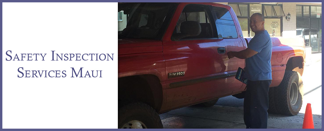Safety Inspection Services Maui is a Vehicle Inspection Company in Wailuku, HI