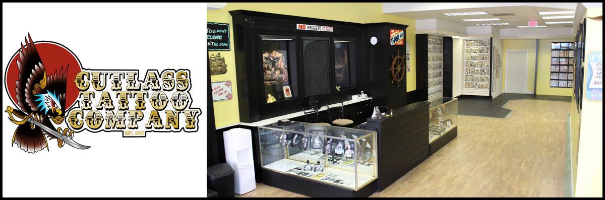 Cutlass Tattoo Company is a Tattoo Shop in Pigeon Forge, TN