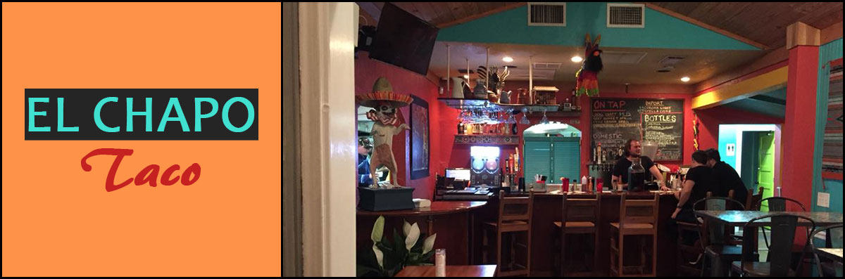 El Chapo Taco is a Mexican Restaurant in Gulfport, FL