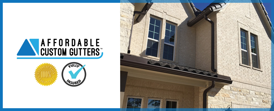Affordable Custom Gutters	 is a Gutter Contractor in Katy, TX