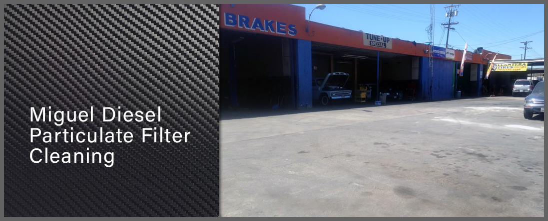 Miguel's Diesel Particulate Filter Cleaning is a Diesel mechanic in Huntington Park, CA
