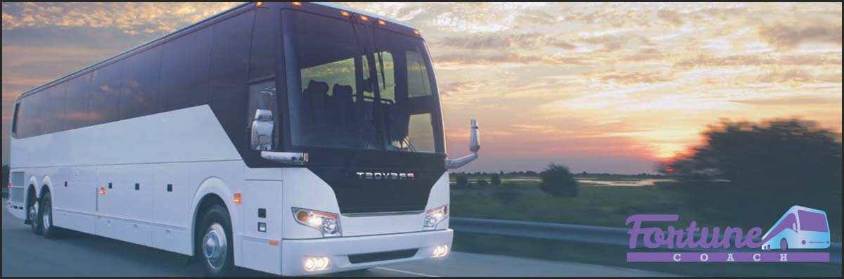 Fortune Coach Bus Charter is a Bus Rental Company in Brooklyn, NY