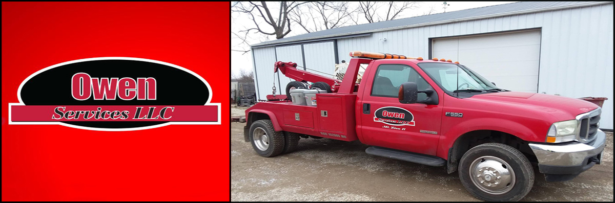 Owen Services LLC is a Towing Company in Mount Zion, IL