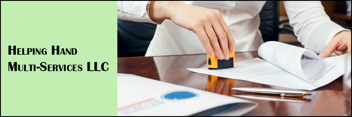 Helping Hand Multi-Services LLC is a Public Notary Service in New Milford, CT